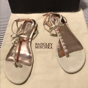 Badgley Mischka Flat Sandal